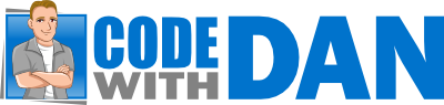 Code with Dan Logo